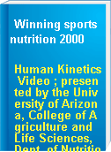 Winning sports nutrition 2000