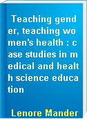 Teaching gender, teaching women