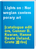 Lights on : Norwegian contemporary art