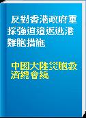 反對香港政府重採強迫遺返逃港難胞措施