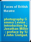 Faces of British theatre