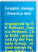 Graphic design : America two