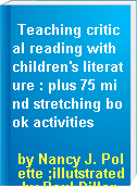 Teaching critical reading with children